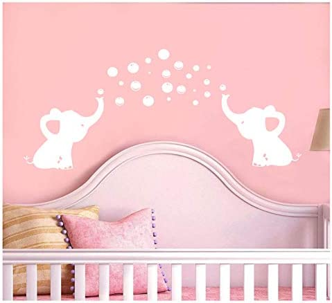 LUCKKYY Elephant Removable Bubbles Stickers product image