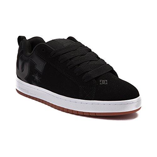 絶滅した横向き依存(ディーシー) DC 靴?シューズ メンズスケートシューズ Mens DC Court Graffik SE Skate Shoe Black/White ブラック/ホワイト US 8 (26cm)
