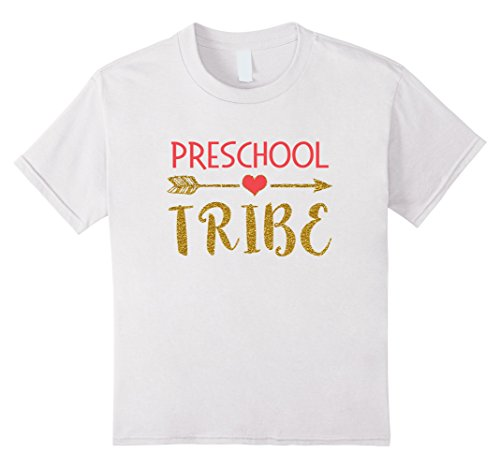 Kids Preschool Tribe Teachers Gift T Shirt 1st Day of School 4 (Cute First Day Of School Outfits)