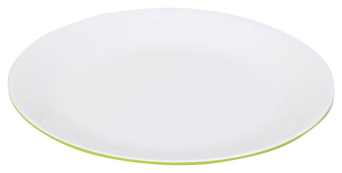 Bo-Camp Bc Melamine Dinner Plate Grey/White Bo-Camp (BOCAS) 6181144
