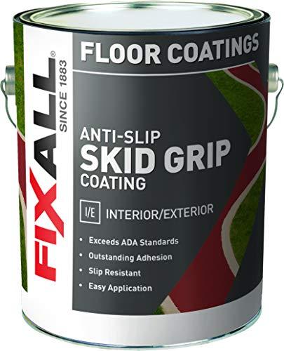 - Skid-Grip Anti Slip Paint Coating - 100% Acrylic Textured Coat, Skid Resistant Paint - Cobalt