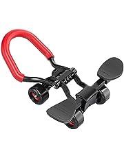 Berbeem 4 Wielen Ab Roller Buikoefening, Mute Core & Buiktrainers, Fitnessapparatuur Buikwiel voor Mannen Vrouwen Oefening Thuis Gym Kantoor
