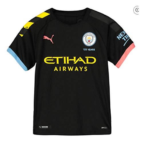 PUMA 2019-2020 Manchester City Away Football Soccer T-Shirt Jersey (Kids)