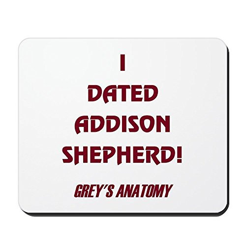 Gaming Mouse Pad for Notepad Addison Shepherd Non-slip Rubber School Desk Decor Mouse Pad for Laptop 10 x 8 Inch
