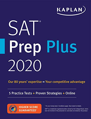 Pdf Teen SAT Prep Plus 2020: 5 Practice Tests + Proven Strategies + Online (Kaplan Test Prep)