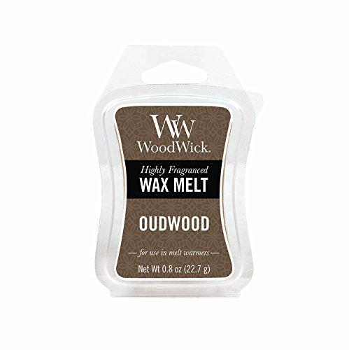 Oudwood WoodWick 0.8 oz. Mini Hourglass Wax Melt