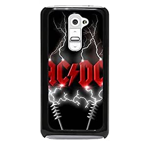 Famous Band AC/DC Phone Case For LG G2 Best Gift For Rock Fans