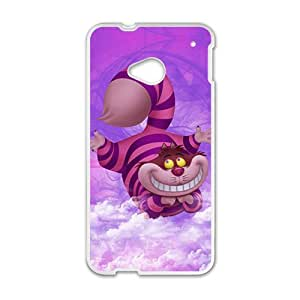 Custom Art Alice in Wonderland – Cheshire Cat Special DIY Case for HTC One M7