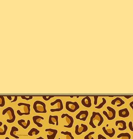 Decoupage Su Tavolo Di Plastica.Creative Converting Carta Da Decoupage Con Motivo Leopardato Per