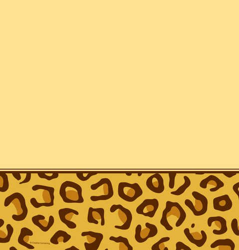 Creative Converting Animal Print Leopard Plastic Table Cover, Rectangle 54 x 108