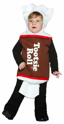 [Rasta Imposta Tootsie Roll, Brown, 18-24 Months] (Childrens Food Halloween Costumes)