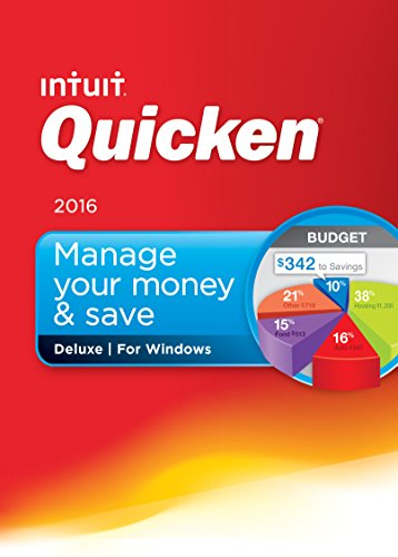 Quicken Deluxe 2016 Personal Finance & Budgeting Software [Old Version]