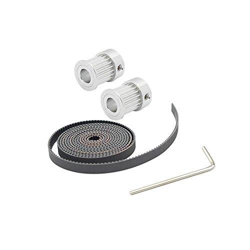 Anycubic-2-Piezas-Aleacin-Aluminio-GT2-20T-Polea-635-mm-Dimetro-y-2M-GT2-Cinturn-para-la-Impresora-3D