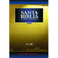 Santa Biblia - NVI Letra Gigante Tela Negro (Spanish...