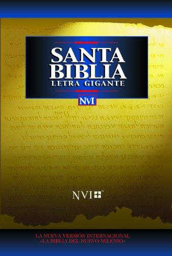 Santa Biblia - NVI Letra Gigante Tela Negro (Spanish Edition)