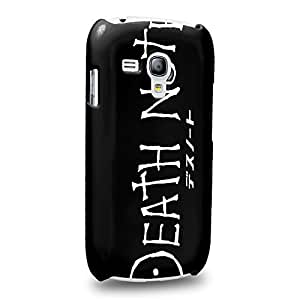 Case88 Premium Designs Death Note 1222 Protective Snap-on Hard Back Case Cover for Samsung Galaxy S3 mini