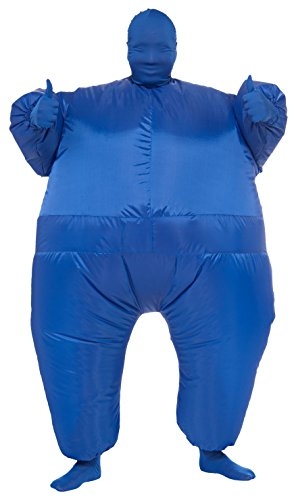 Future Fancy Dress Costumes (Rubie's Costume Inflatable Full Body Suit Costume, Blue, One Size)
