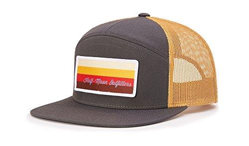 491fef66 Richardson 958 7 PANEL TRUCKER BLANK BASEBALL CAP OSFA HAT