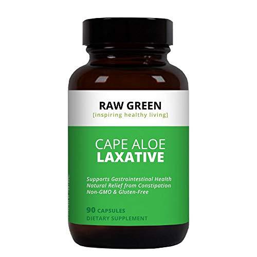 Raw Green Organics - RawJuvenate - Super Aloe - Gastrointestinal Support - 90 Plant Capsules ()