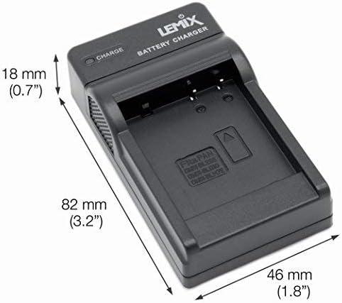 Cargador Para Panasonic Dmc tz71 tz70 Ts5 Ft5 Lz40 Dmw bcm13 bcm13e Batería