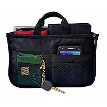 RW Collections Handbag Organizer, Liner, Sturdy Nylon Purse Insert 13 Pockets XL
