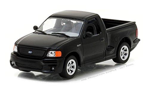 1999 Ford F-150 SVT Lightning Pickup Truck Black 1/43 Diecast Model Car Greenlight 86085 Ford Svt Pickup Truck