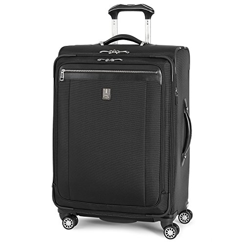 (Travelpro Platinum Magna 2 Expandable Spinner Suiter Suitcase, 25-in., Black)