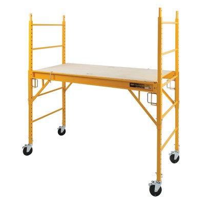 Metaltech Multipurpose 6ft. Baker-Style Scaffold - 1,000-Lb. Capacity, Steel, Model# I-CISC
