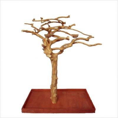 Java Tree Playstands - A&E Cage Company Small Single Java Tree ? 48? x 24? x 66? Java Wood