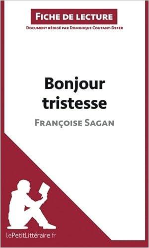 Bonjour Tristesse Francoise Sagan Pdf