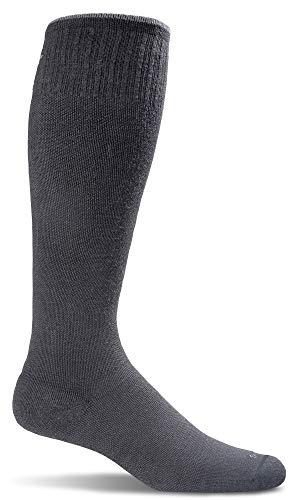 Sockwell Women's Circulator Graduated Compression Socks, Small/Medium (4-7.5) Black ()