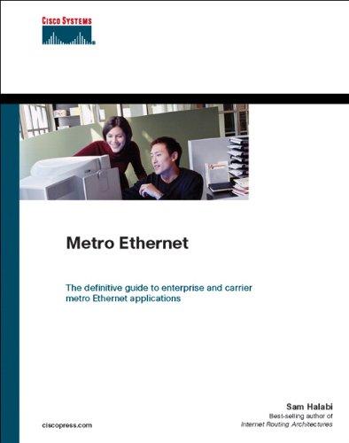 Metro Ethernet (Networking Technology) Pdf