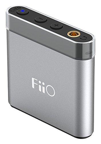 Fiio A1 - audífonos portátiles (A1), Color Plateado