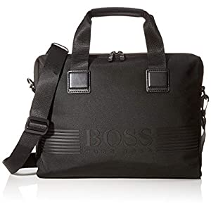 BOSS Pixel_single Doc Cas, Men's Bag, Black, 8x29x38 cm (B x H T)