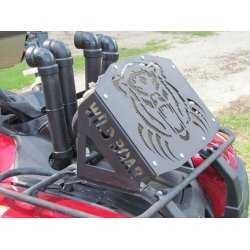 Grizzly 550/700 Radiator Relocation Kit 07-13