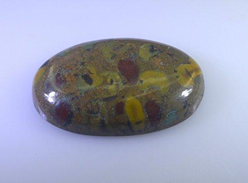 polka pierre lâche ovale cabochon 1 pc 20x32 mm stpodot-410020