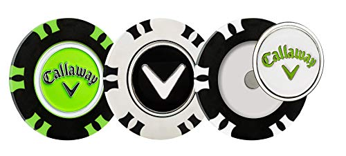 Callaway Golf Dual-Mark Poker Chip Ball Marker