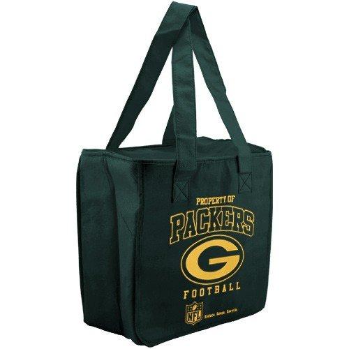 Greeb Bay Packers再利用可能な断熱ショッピングクーラーバッグ B004MJQ3PG