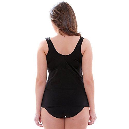 Elomi de natashia Lunt Tankini de Reunidos En Color Negro (es7420) * tamaños 16–�?6* negro