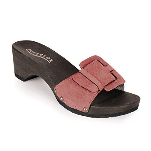 Softclox - Zapatos de vestir de Piel para mujer rosa Rosa 36