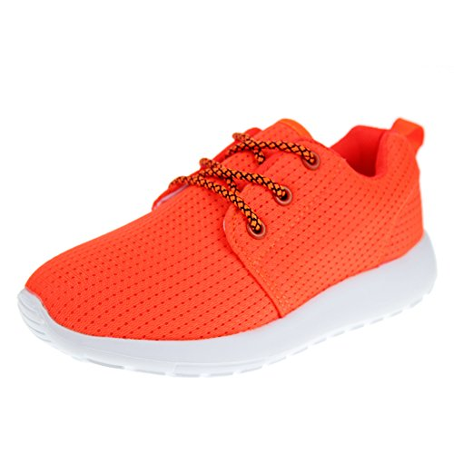 Hawkwell Breathable Lace-up Running Shoes(Toddler/Little Kid/Big Kid),Orange