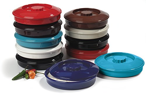 Carlisle 047528 Stackable Tortilla Server with Lid, 7-1/4'' / 2'', Lennox Brown (Pack of 24) by Carlisle (Image #2)