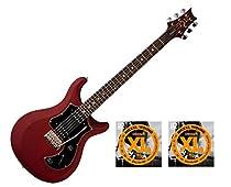 PRS S2 Standard 24 Satin Vintage Cherry w/20 Sets D'Addario EXL110 Strings