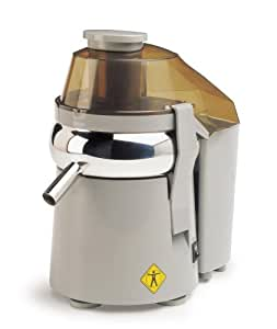 L'Equip 306150 480 Watts Mini Pulp Ejection Juicer, Gray