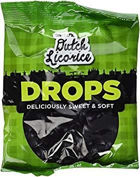 Gustaf's Soft Dutch Licorice Drops, 5.2 Oz Bag