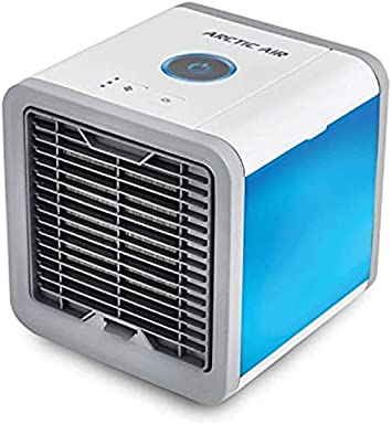 RT Evaporative Air Cooler, Portable Mini Powerful Cooler for Home, Arctic Air Personal Space Cooler, The Quick & Easy Way to Cool Any Space Air Conditioner Device Home by Hommie Goods