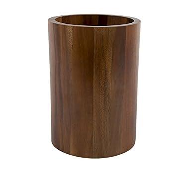 Core Acacia Round Utensil Holder