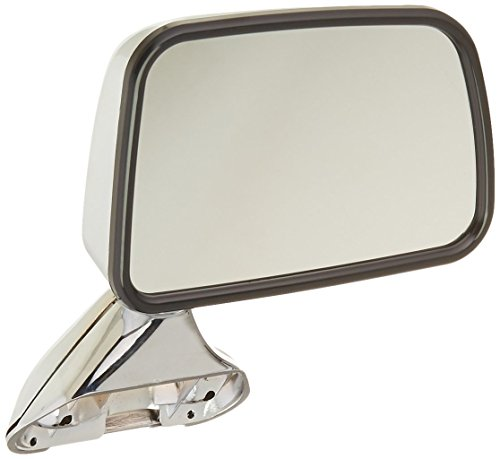 CIPA 17095 Toyota Pickup OE Style Chrome Manual Folding Replacement Passenger Side Mirror