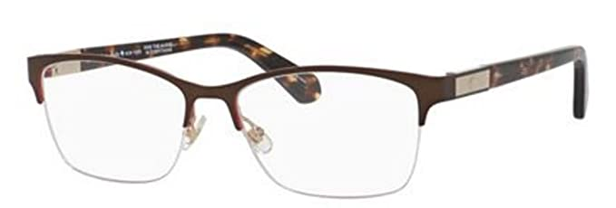 bbd7d82333d Image Unavailable. Image not available for. Color  Kate Spade Glorianne  Eyeglasses-0WR9 Brown ...