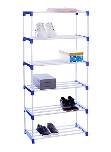 LookNSnap Multipurpose Shoe Rack Organizer   6 Shelve